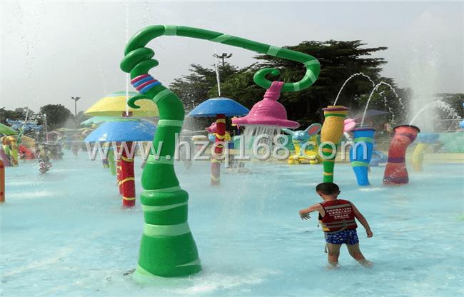 儿童戏水设备吊花喷水