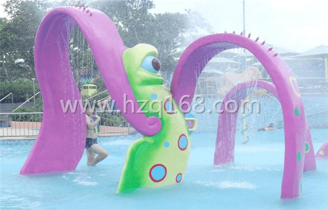 章鱼门喷水