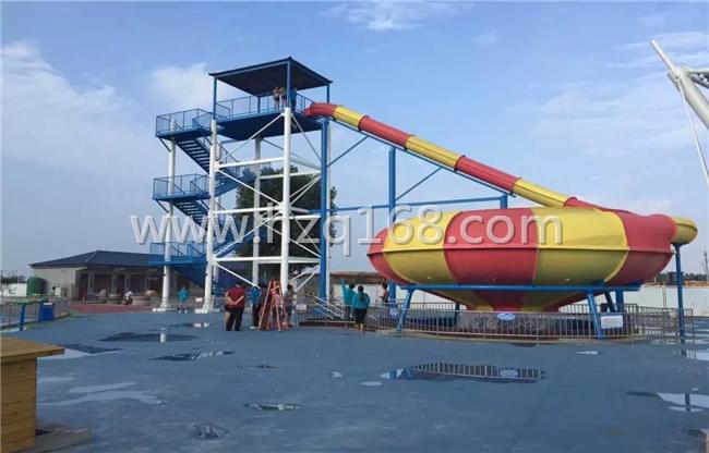 水上乐园设备太空盆滑梯