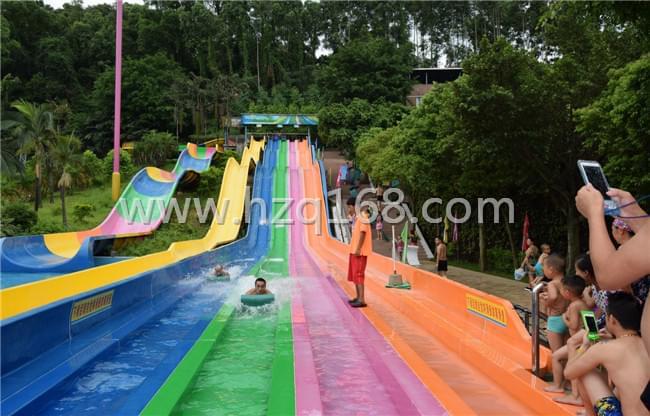 番禺水滑道-彩虹竞赛滑梯